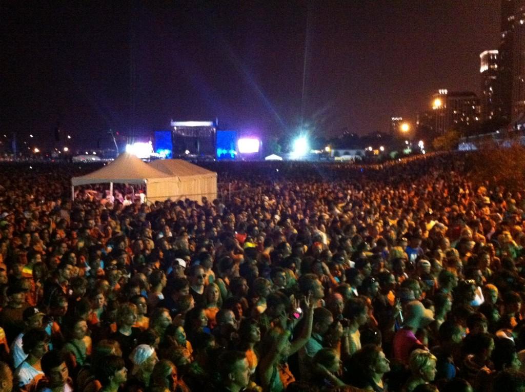 Lollapalooza Crowd for Eminem