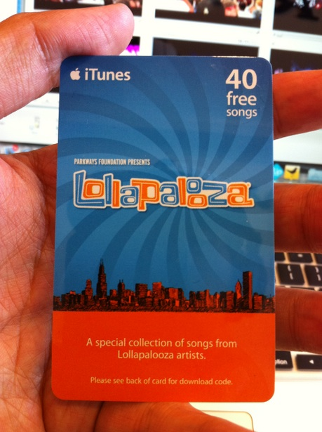 Lollapalooza Sampler 2011