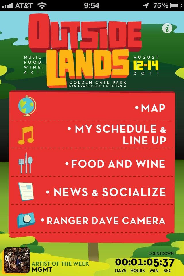 Outside Lands App