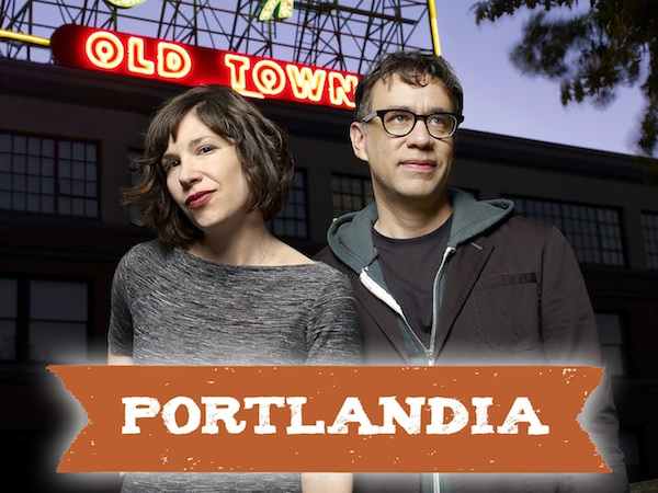 Portlandia >> Carrie Brownstein & Fred Armisen