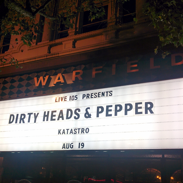 Pepper >> The Warfield