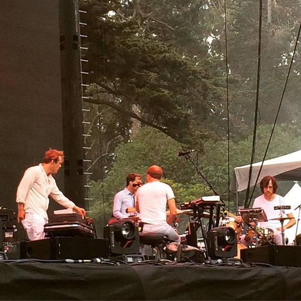 Caribou >> Outside Lands 2015