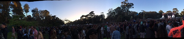 Outside Lands 2015 Panoramic